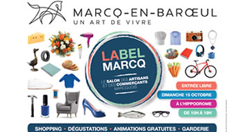 Exhibition Label Marcq
